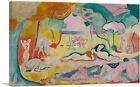 ARTCANVAS The Joy of Life 1906 Canvas Art Print by Henri Matisse