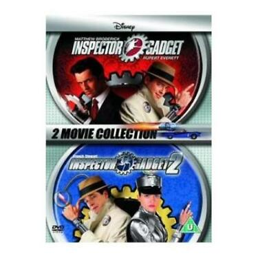 Inspector Gadget 1  2 Region 4 New 2xDVD The Movie one and two