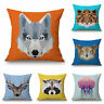18'' Decorative Cotton Linen Square Throw Pillowcase Pillow Cover Cushion Gift