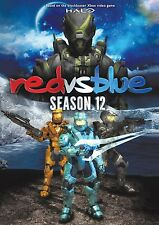 RED VS BLUE - SEASON 12  - DVD - UK Compatible -  sealed  (halo)