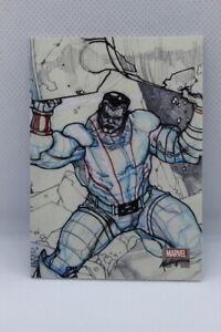 2018 Marvel Masterpieces #PA48 COLOSSUS - PRELIMINARY ART OF SIMONE BIANCHI