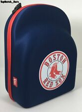 Boston Red Sox New Era 6 Cap Blue/Red Carrier Case Brand New Ships Now !!!