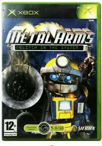 Metal Arms Glitch in the System Xbox pal game