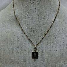 Vintage Necklace Graduation Key Charm