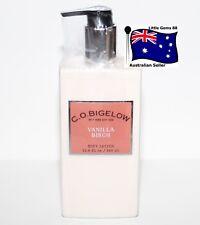 BATH & BODY WORKS C.O. BIGELOW Scented UNISEX * Vanilla Birch Body Lotion 345ml
