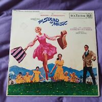 The Sound Of Music Soundtrack Julie Andrews 1965 LP RCA UK RB-6616 Mono