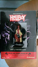 Hellboy Hell Boy Seeds of Destruction Book and Figurine Figure Boxed Box Set New