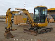 John Deere 35ZTS Mini Excavator Hydraulic Thumb Cab Q/C Dozer Blade Aux bidadoo