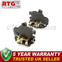 2x Door Lock Actuators Front Fits VW Golf (Mk4) 1.8