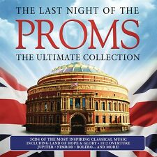 LAST NIGHT OF THE PROMS: THE ULTIMATE COLLECTION  3 CD NEU ELGAR/VIVALDI/LISZT/