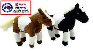 1 X PLUSH HORSE 18CM teddy soft toy stuffed animal doll birthday gift bed spirit