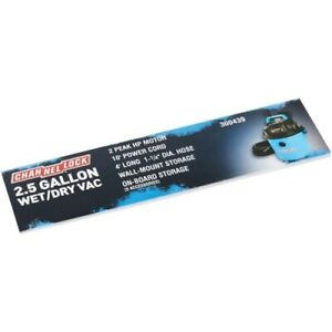 Channellock Wet/Dry Vac Signs POP Kit