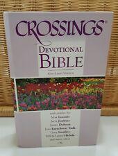 Crossings Devotional Bible (King James Version) Hardcover – 2001