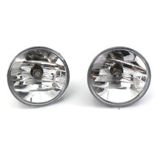 For 07-14 Chevy Avalanche Suburban Tahoe GMC Clear Fog Lights Driving Lamps PAIR