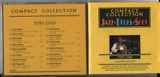 JAZZ BLUES SOUL 1939 1940 CD COUNT BASIE LOUIS JORDAM GLENN MILLER FATS WALLER
