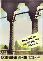 1956 Romanian 600 years of Architecture Medieval Rural Folk 143 pict. English HC