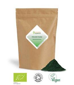 Organic Chlorella Powder Premium Milled Broken Cell Wall Chlorella Powder