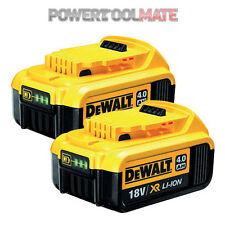Genuine Dewalt DCB182 18V 4.0Ah XR Batteries *TWIN PACK*