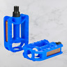 "Replacement Kids Bicycle Pedals Standard Childrens Bike 1/2"" Thread 55x80mm Blue"