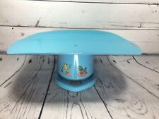 Vintage 1950-1960 Brearley Counselor Nursery Scale Baby Blue, Elephant & Horse