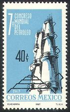 Mexico 1967 Oil Refinery/Petrol/Transport/Minerals/Industry/Commerce 1v (n42039)