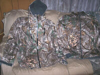 Mens XL Tall Cold Weather Parka Waterproof Camo Jacket Insulated Hunting Coat