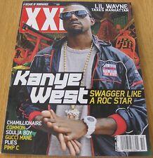 XXL October 2007 #96 Kanye West Lil Wayne Gucci Mane T.I. Wiz Khalifa rap source