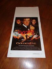 LOCANDINA,Goldeneye  James Bond  Pierce Brosnan Agente  007