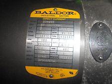 Baldor Industrial Motor  3 HP   365347Z136  180 200/100  1750 RPM