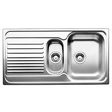 """Blanco TIPO 1 1/4"""" RIGHT HAND BOWL KITCHEN SINK Stainless Inlet w/ Drainer 60cm"""