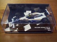 1/43 WILLIAMS RENAULT FW16 1994 AYRTON SENNA WHITE WRITING VERSION