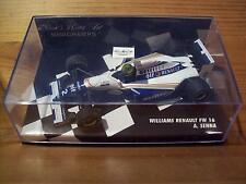 1/43 WILLIAMS RENAULT FW16 1994 AYRTON SENNA WHITE WRITING VERSION