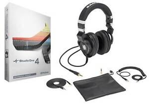 Presonus Studio One 4 Pro Upgrade Artist/Producer v. 1/2/3 to Pro 4.0+Headphones
