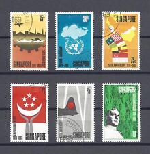 SINGAPORE 1969 SG 121/6 USED Cat £90