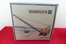 NZG No 500 is the very rare model of the Weserhutte Typ W 180 Dragline VNMB