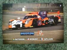 CARD LE MANS 24 HOURS 2017 / ALGARVE PRO SO24 #45 : PATTERSON CAPILLAIRE MCMU
