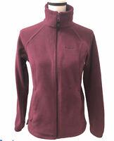 Columbia Fleece Women's Full Zip Jacket Plum/Purple Small