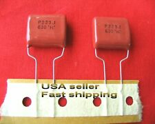 4 pc- .022uf (0.022uf, 22nf) 630v metalized film capacitors (rd) FREE SHIPPING