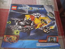 Lego Space Police 5972 instruction book/manual only