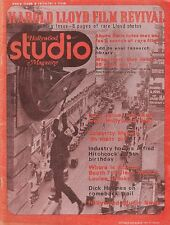 OCT/NOV 1974 HOLLYWOOD STUDIO movie magazine HAROLD LLOYD FILM REVIVAL