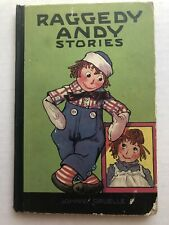 1920 Raggedy Andy Stories by Johnny Gruelle Great Color Illustrations   B