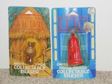 Star Wars Return Of The Jedi Collectable Eraser Wicket & Emperor's Royal Guard