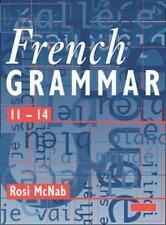 Francés Grammar 11-14 Pupila Libro Por ROSI McNab De Bolsillo 9780435372989