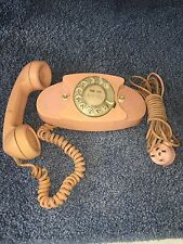Vintage PINK Western Electric / Bell System Rotary Dail Princess Phone