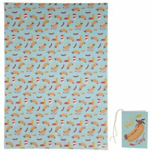 Sausage Dog Fast Food Wrapping Paper 50 x 70cm