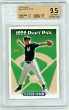Derek Jeter 1993 Topps RC #98 BGS 9.5