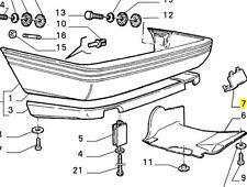 ALFA ROMEO 164 PARAURTI POSTERIORE INFERIORE SPOILER blanking plug BRAND NEW ORIGINALE