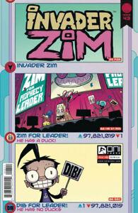Invader Zim #43  NM ONI PRESS INC. Gemini Shipping