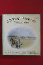 """A.B. """"BANJO"""" PATERSON'S COLLECTED VERSE illustrated Norman Lindsay (HC/DJ, 1983)"""
