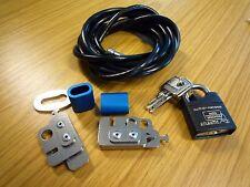 Dos Cerraduras De Cable De Seguridad Informática-ordenadores portátiles Llave Antirrobo Cerradura seguridad de TI